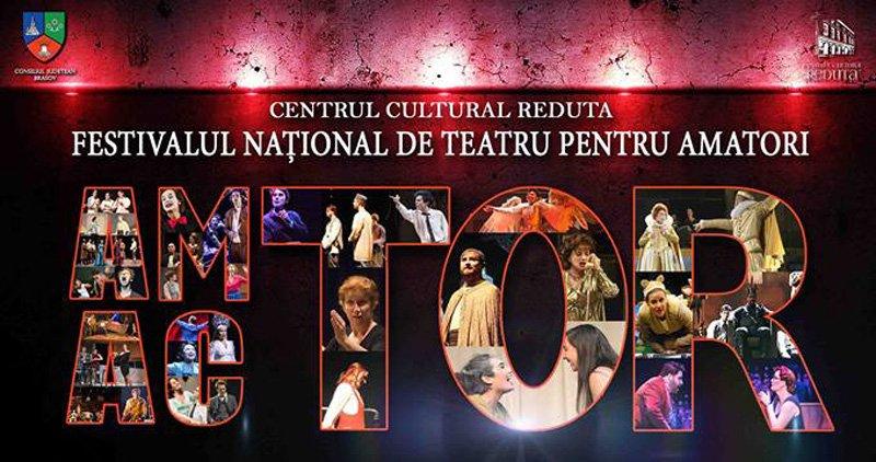 """Teatrul """"Dan Alecsandrescu"""" din Roman, prezent la Festivalul național de teatru pentru amatori """"AM-ACTOR"""""""