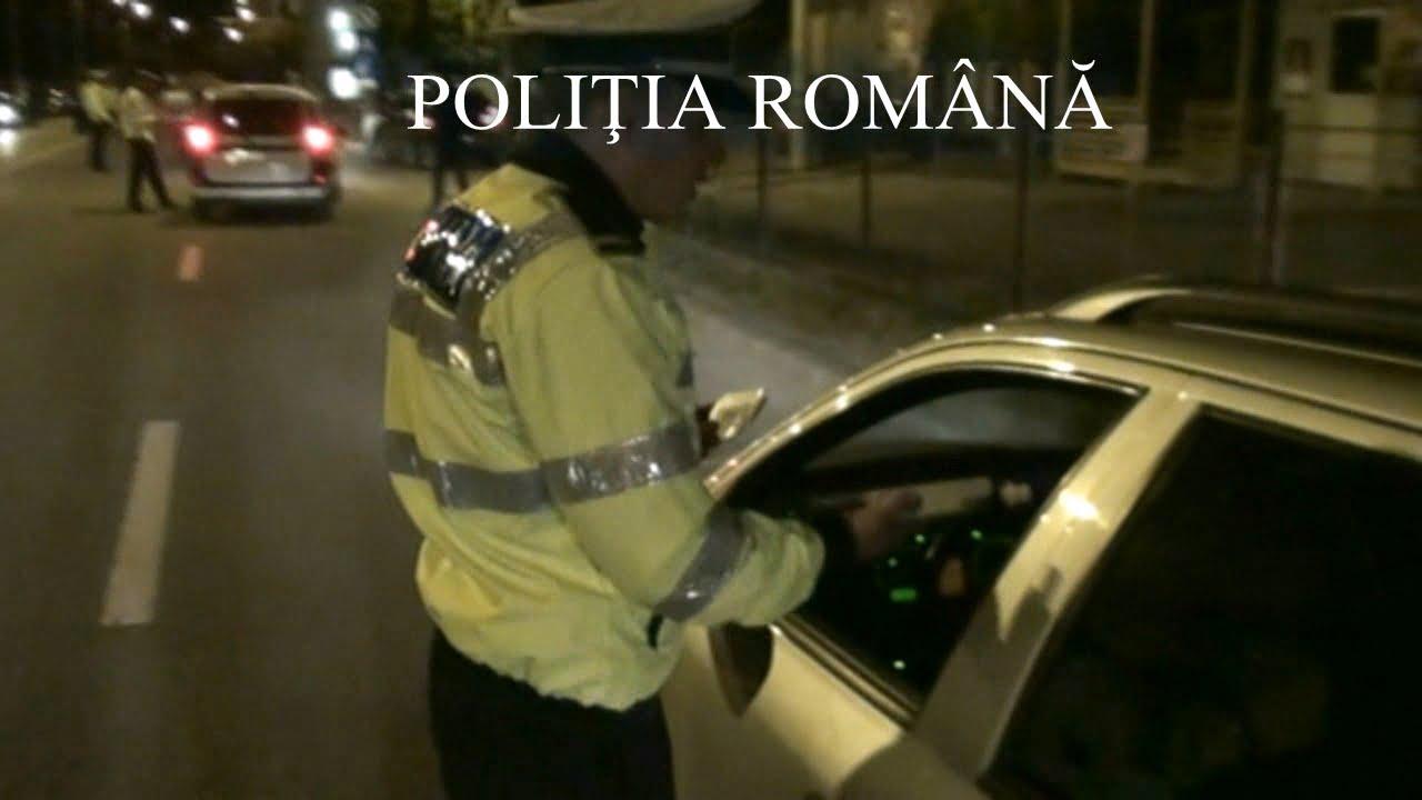 [VIDEO] Sute de șoferi sancționați de polițiști