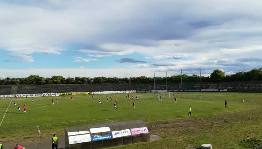 Victorie pentru fotbaliștii CSM Roman în fața CSM Pașcani