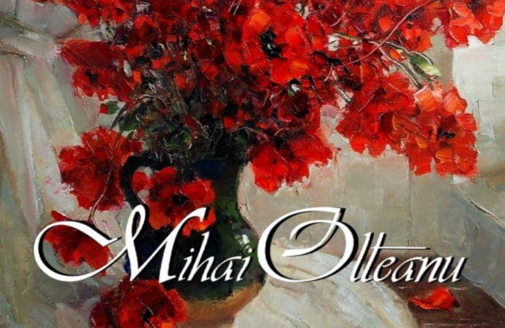 Expoziție de pictură a artistului plastic romașcan Mihai Olteanu, duminică, la Muzeul de Artă