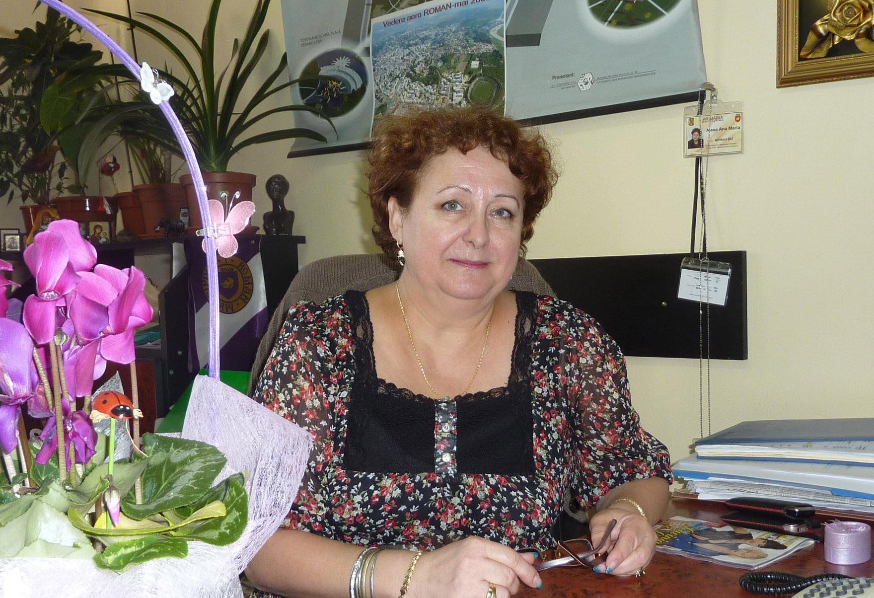 Ana Maria Alexe nu mai este arhitectul șef al orașului Roman