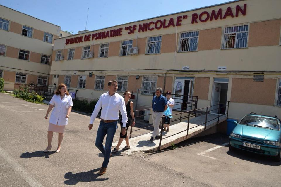 """Un nou proiect al CJ Neamț, reabilitarea termică a Spitalului de Psihiatrie """"Sf. Nicolae"""" din Roman"""