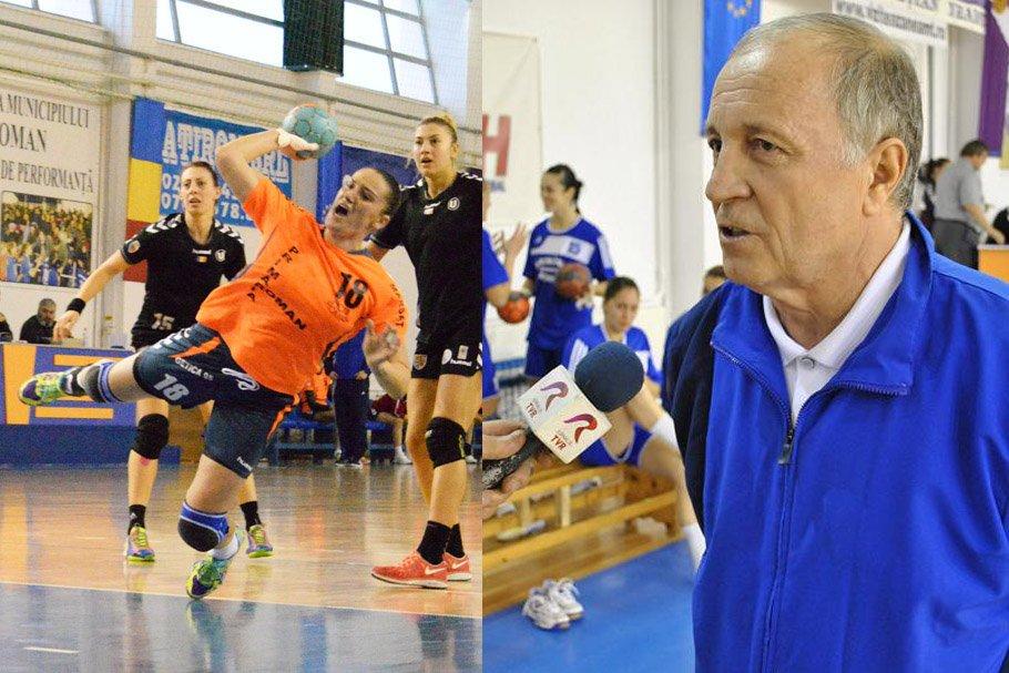 Reconstrucție la echipa de handbal: antrenorul Cornel Bădulescu și Raluca Ivan revin la CSM Roman. 10 jucătoare noi pentru sezonul următor