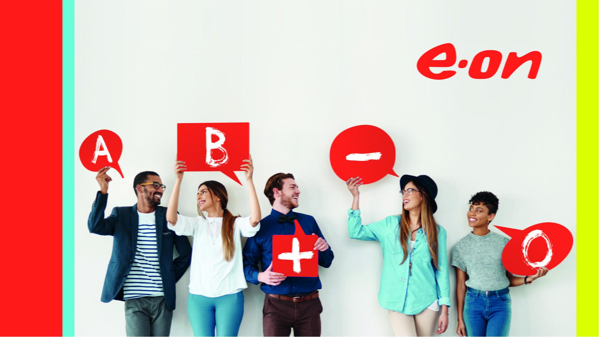 E.ON elimină litera O din numele companiei, pentru a încuraja donarea de sânge