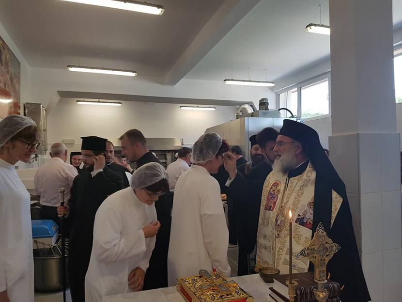 """Utilaje noi pentru brutăria """"Betleem"""" a Arhiepiscopiei Romanului și Bacăului"""