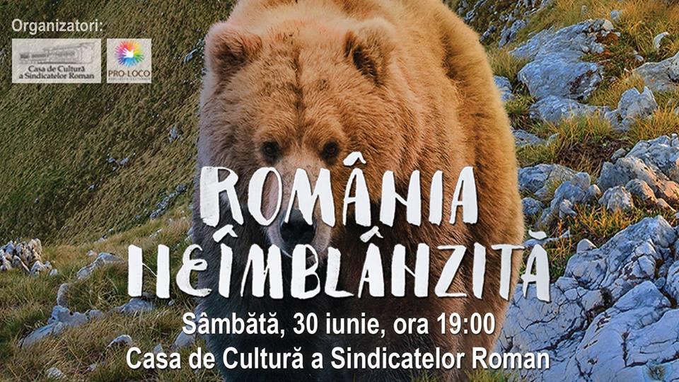 """[VIDEO] Proiecție specială a filmului """"România neîmblânzită"""", la Casa de Cultură"""