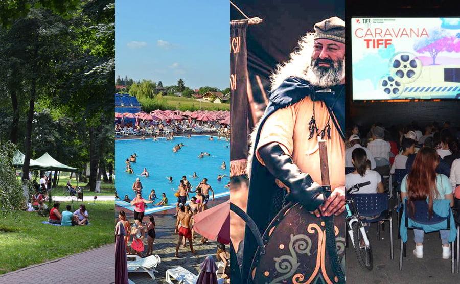 Surprizele verii pentru romașcani: Festivalul dacilor din Moldova, picnicuri în Parc, petreceri cu spumă în Ștrand și caravana filmelor TIFF