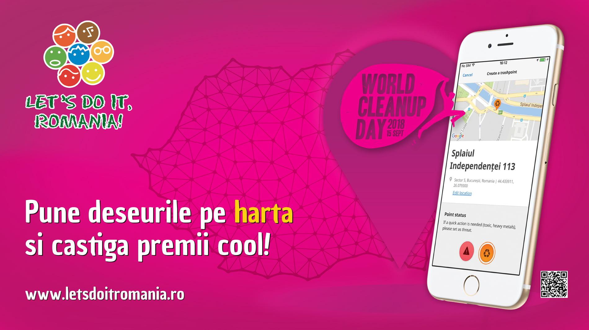 """""""Let's Do It, Romania!"""" premiază cei mai implicați voluntari pentru realizarea Hărții Deșeurilor"""