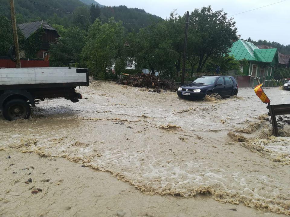 Starea drumurilor naționale după Codul portocaliu de precipitații abundente