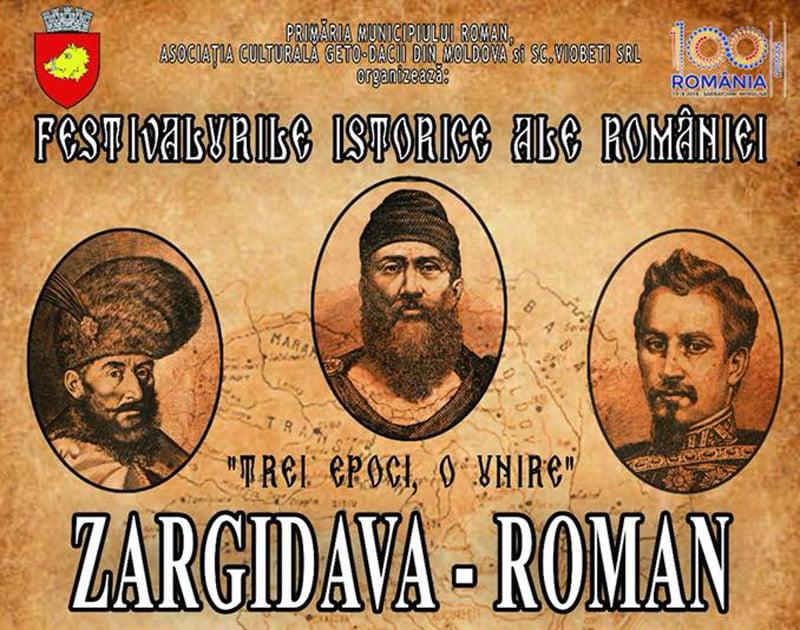 """Spectacole de reconstituire istorică și spectacole artistice, la Festivalul istoric """"Zargidava"""", în acest weekend la Roman"""