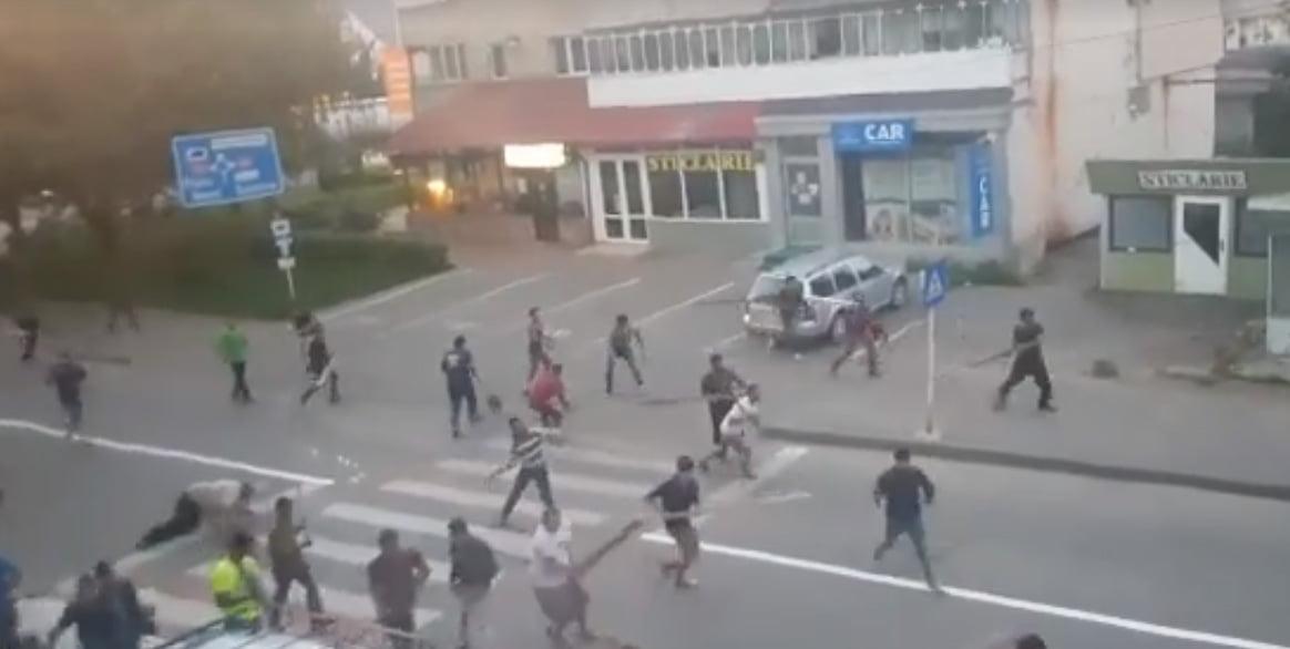 Măsurile luate de Poliție după bătaia între clanurile de romi de la Tîrgu Neamț