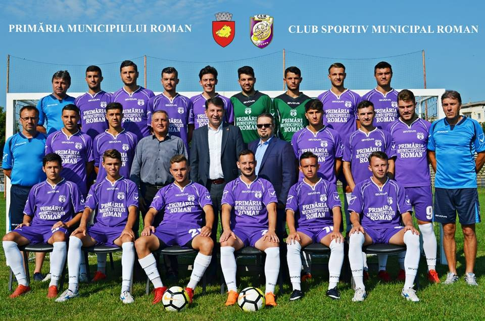 Fotbaliștii CSM Roman, la primul meci pe teren propriu din noul campionat