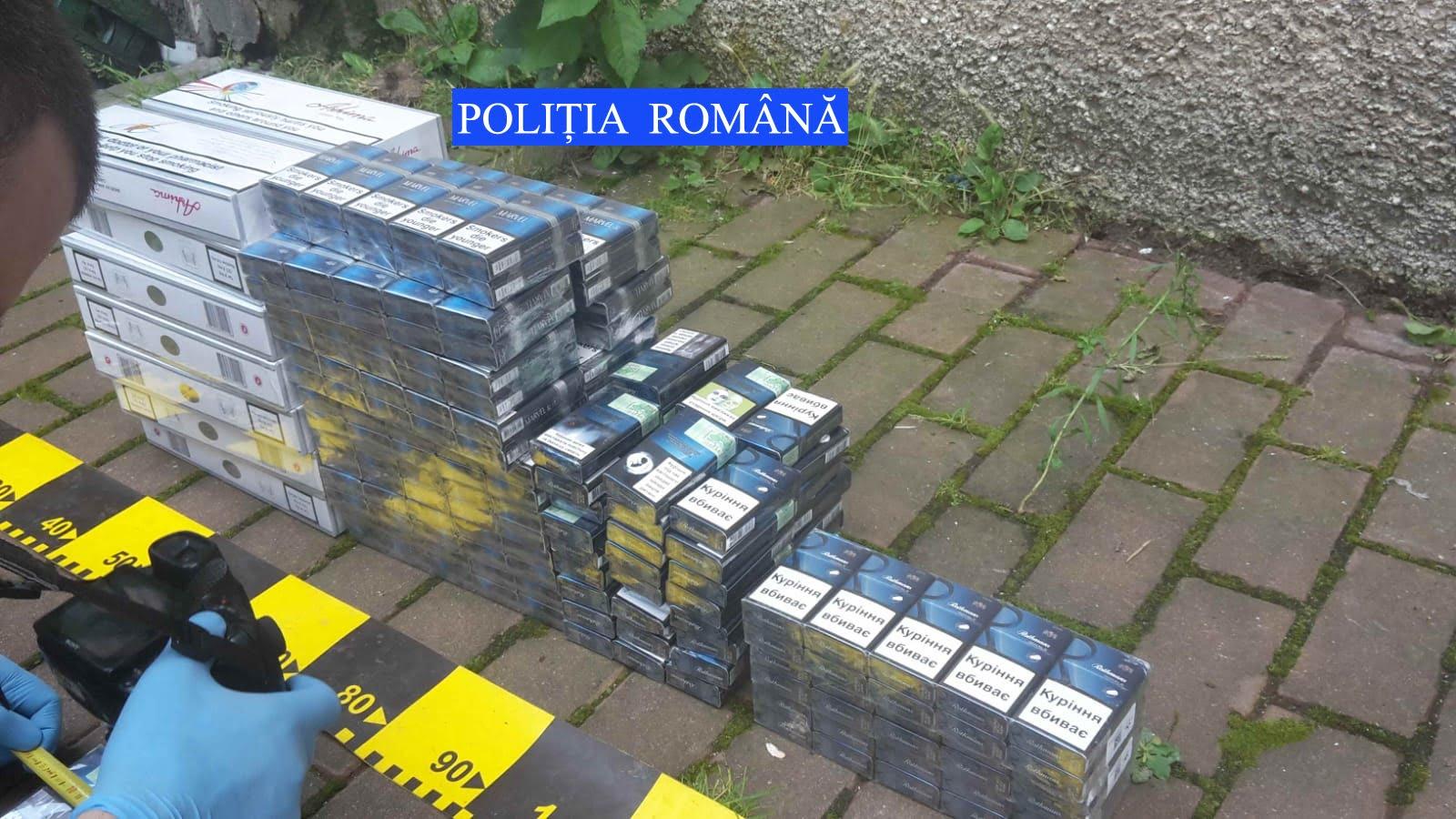 Grup infracţional specializat în contrabandă, destructurat