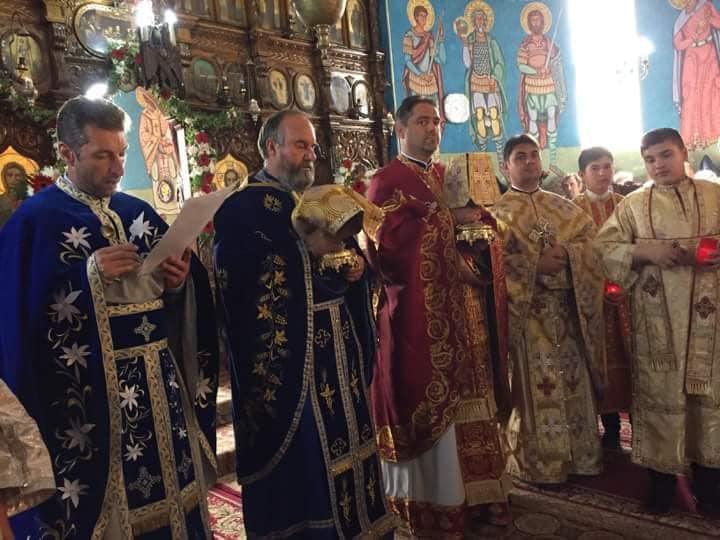 Preot paroh nou, la Ion Creangă