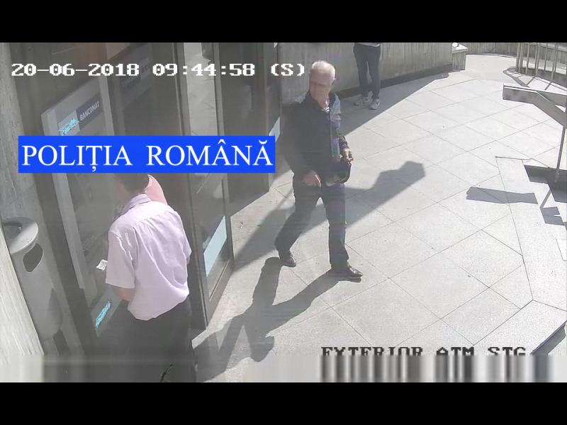 """Atenție la escroci! IPJ Neamț căută un bărbat bănuit de înşelăciune prin metoda """"şmen"""""""