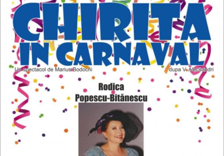 """""""Chiriţa în carnaval"""", în regia lui Marius Bodochi, pe scena Casei de Cultură din Roman"""