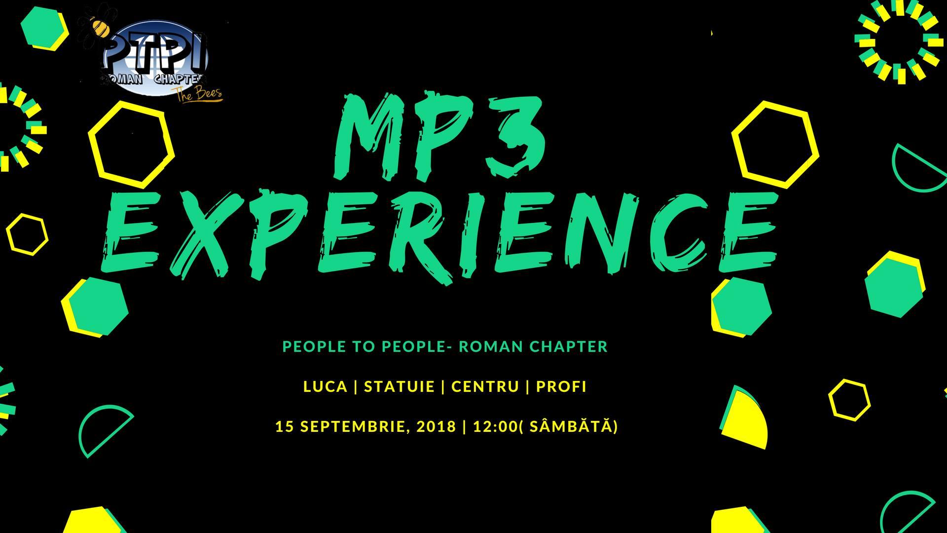 PTPI Roman organizează o nouă ediție a flashmob-ului MP3 Experience