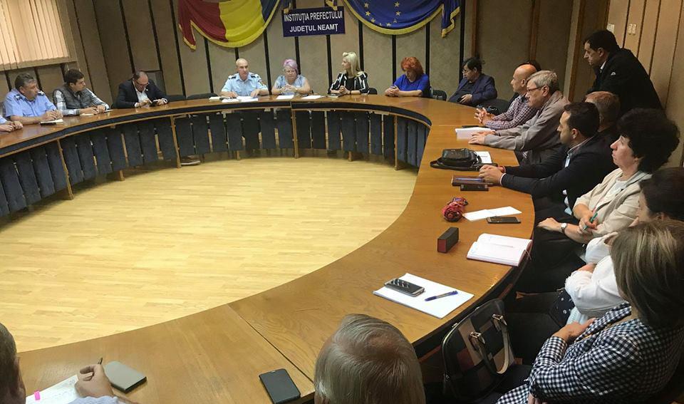 Prefectura Neamț va solicita 330 de milioane de lei pentru reparații asupra DN 15, afectat de alunecări de teren
