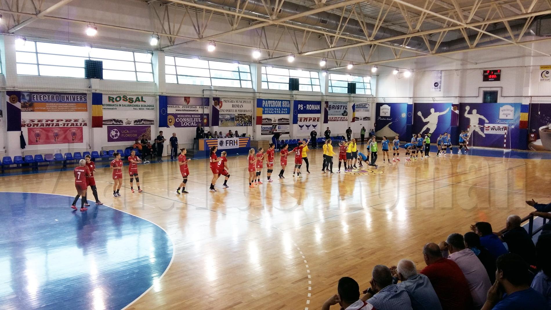 CSM Roman pierde pe teren propriu în fața Gloriei Buzău