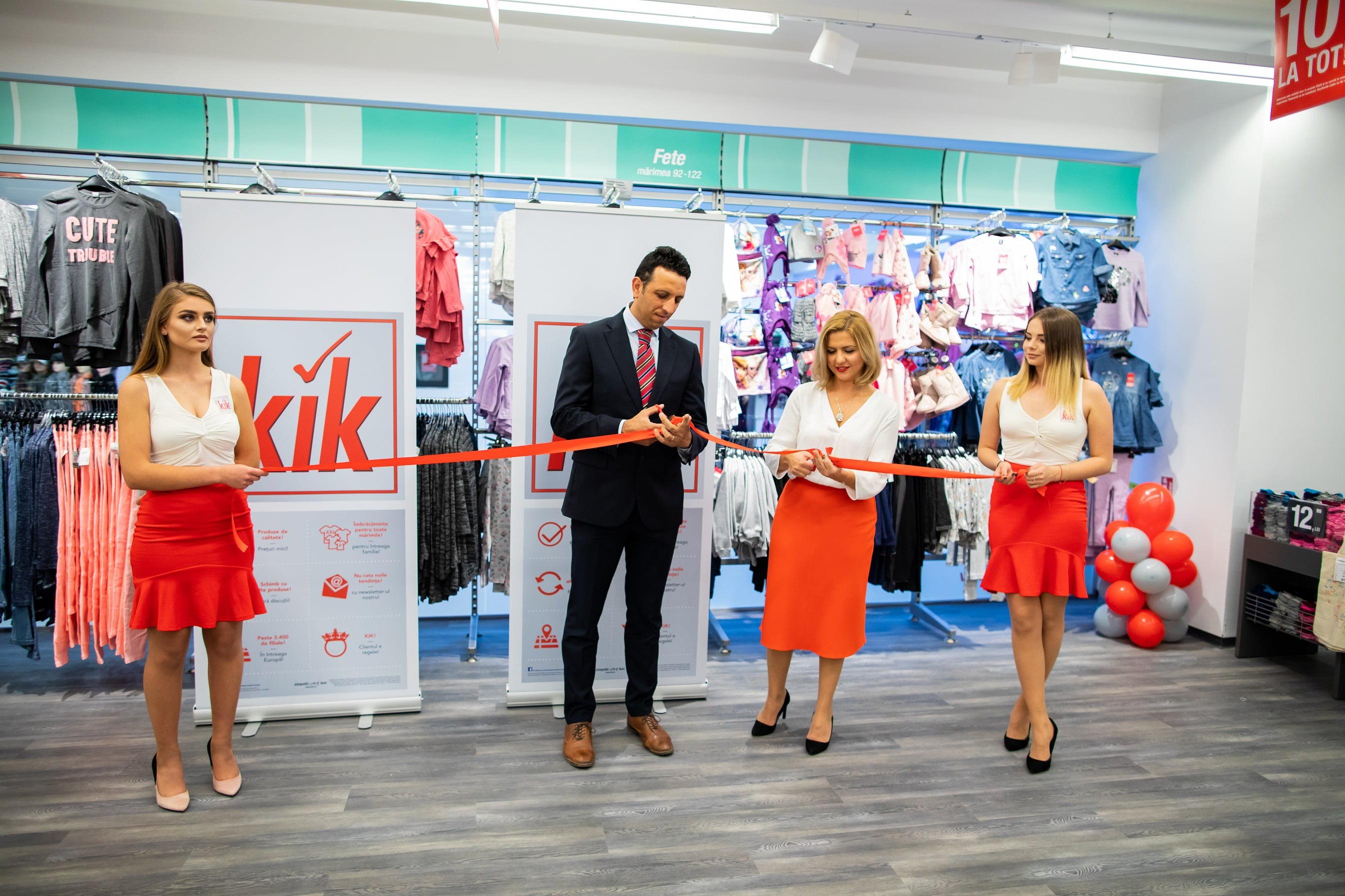 Retailerul vestimentar german KiK a deschis al doilea magazin din România, în Neamţ