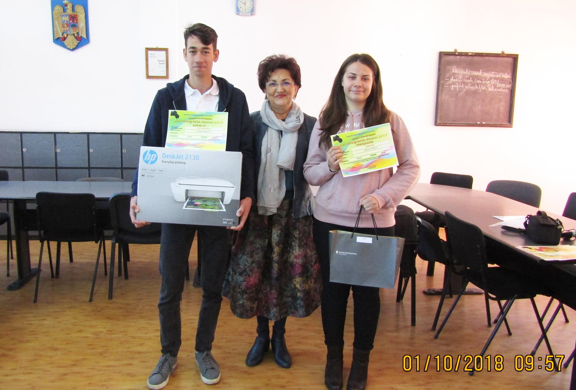 """Programul """"Eco-Fotografia Anului 2018"""" și-a premiat maeștrii în arta fotografică de la """"Vasile Sav"""""""
