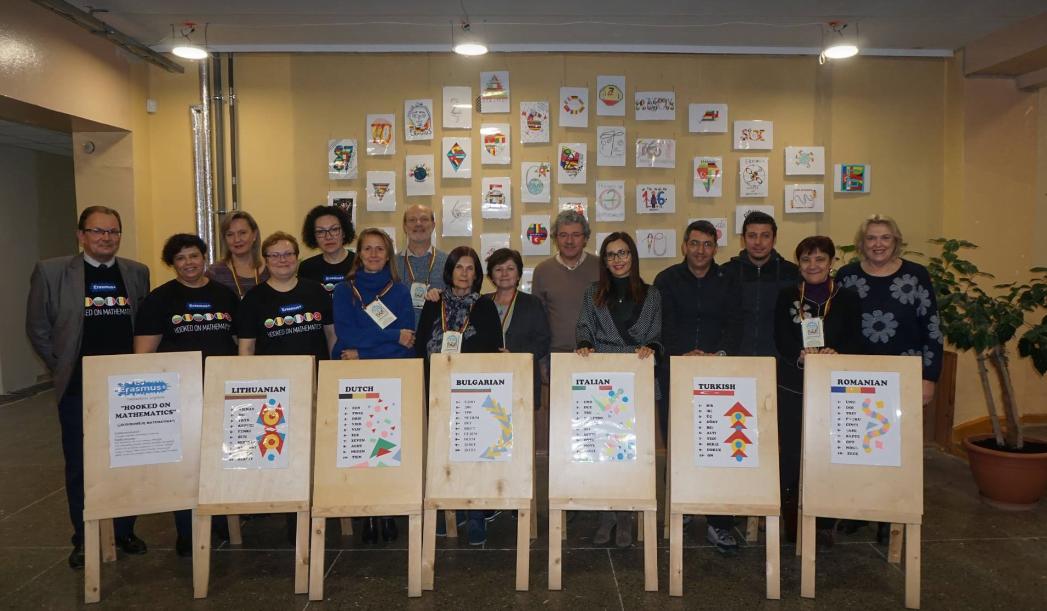 """Delegație a Colegiului """"Petru Poni"""", în vizită în Lituania în cadrul Proiectului Erasmus+ """"Hooked on Mathematics"""""""