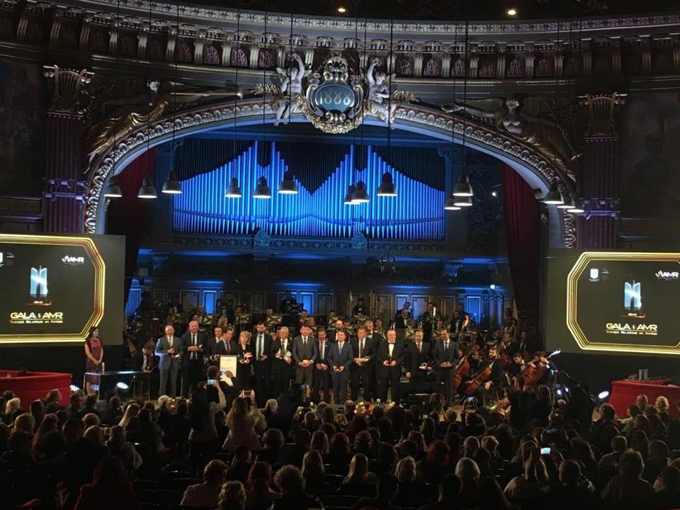 Municipiul Roman, premiat din nou la Gala Asociației Municipiilor din România