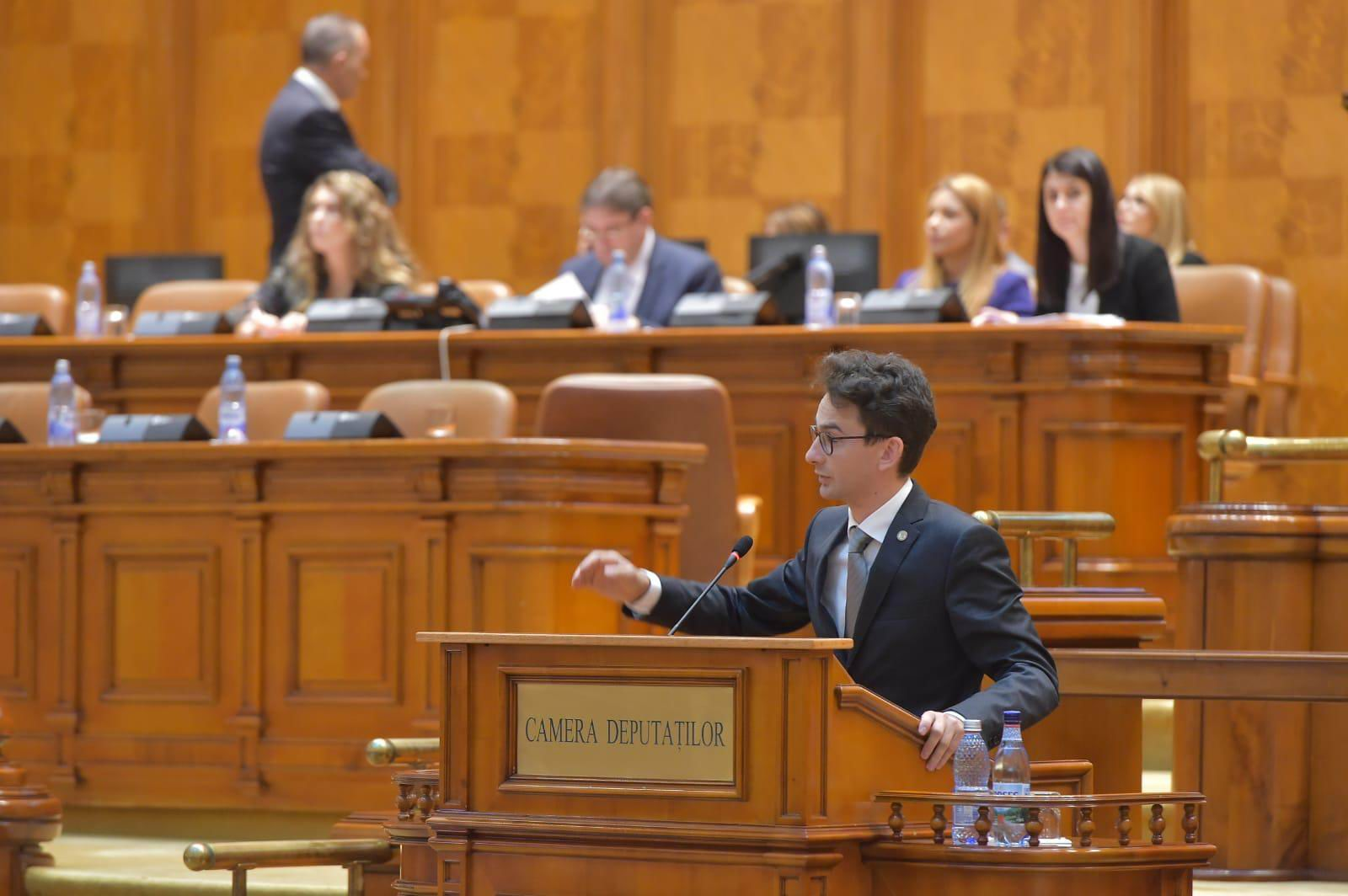 """Deputatul USR Iulian Bulai: """"Din păcate, asistăm la o încercare a PSD – ALDE de a scoate România din UE"""""""