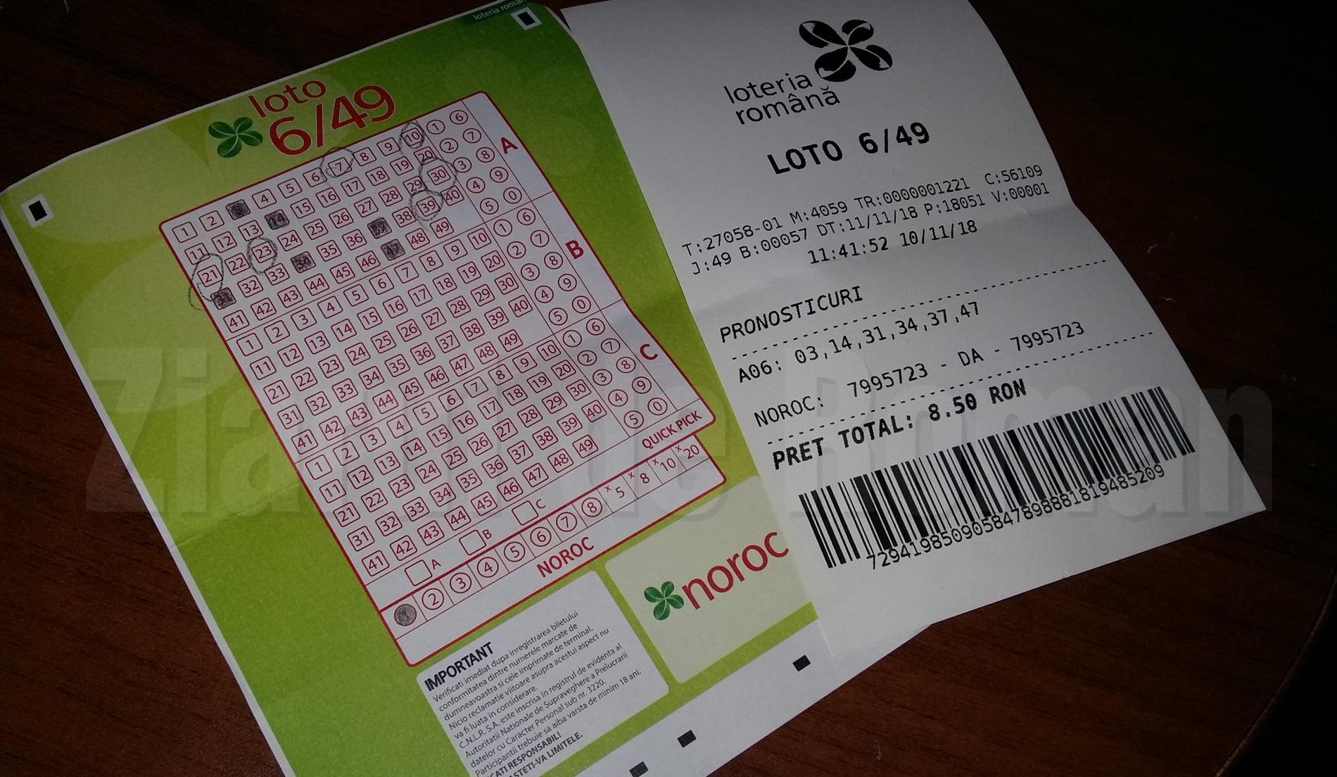 Bilete și prețuri modificate pentru jocurile Loteriei Române