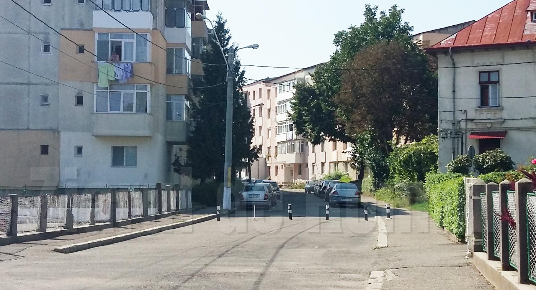 Începe asfaltarea străzilor C.A. Rosetti și Calistrat Hogaș