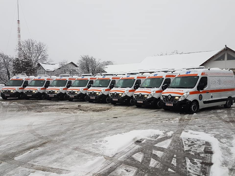 Ambulanțe noi pentru Serviciul Județean de Ambulanță Neamț