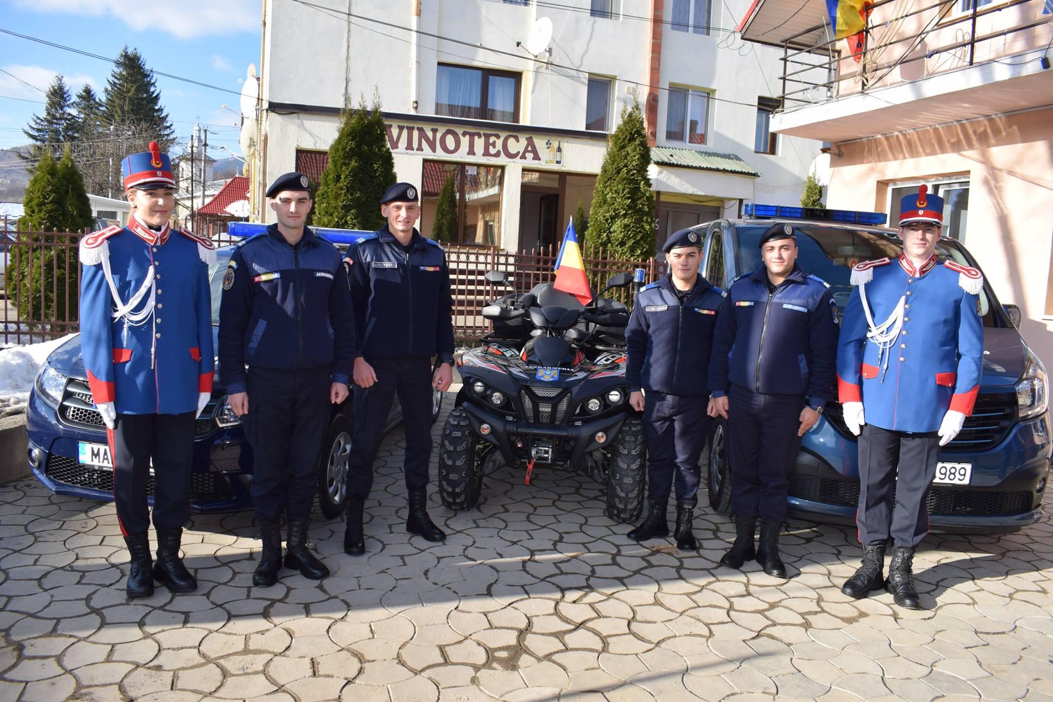 Post de jandarmi inaugurat în Bălțătești