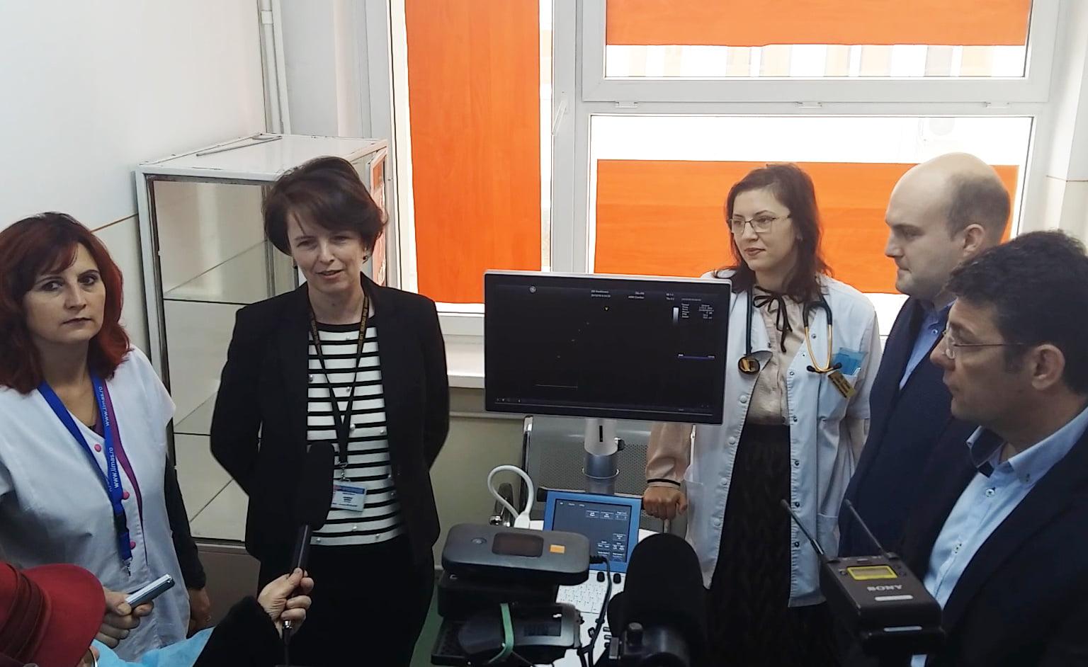 Donație de aparatură din partea firmei Marcel pentru Spitalul Roman