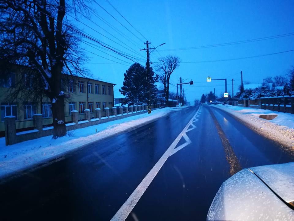 Starea drumurilor naționale din zona Moldovei, vineri dimineață