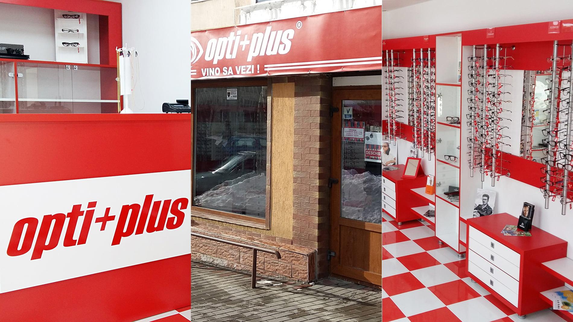[FOTO] S-a deschis Opti-Plus Roman, cel mai nou centru de servicii de optică medicală
