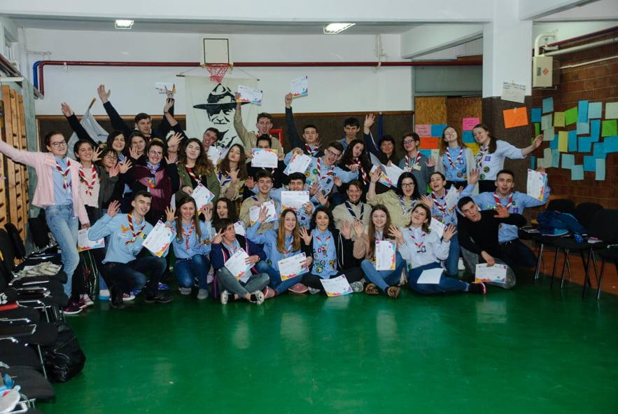 Curs de formare la Pildeşti, pentru tinerii cercetaşi din Moldova