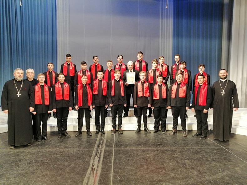 Corul Laudamus a obținut locul al doilea la concursul de la Grodno, din Belarus
