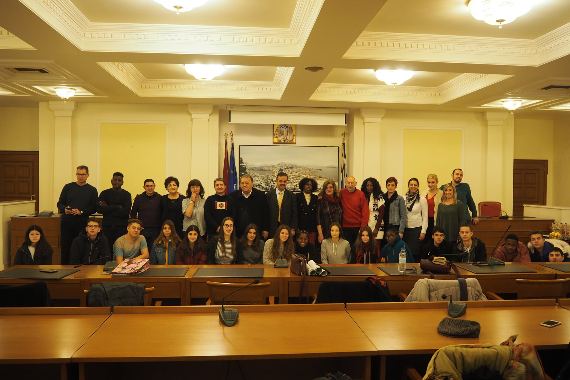 """Liceul Tehnologic """"Vasile Sav"""", reprezentat la întâlnirea de proiect Erasmus+ în Grecia"""