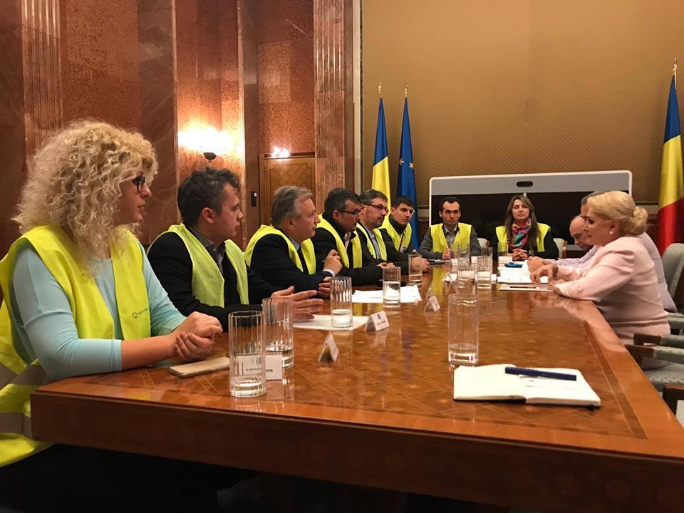Ce au discutat asociațiile pentru autostrăzile Moldovei  cu prim-ministrul Viorica Dăncilă