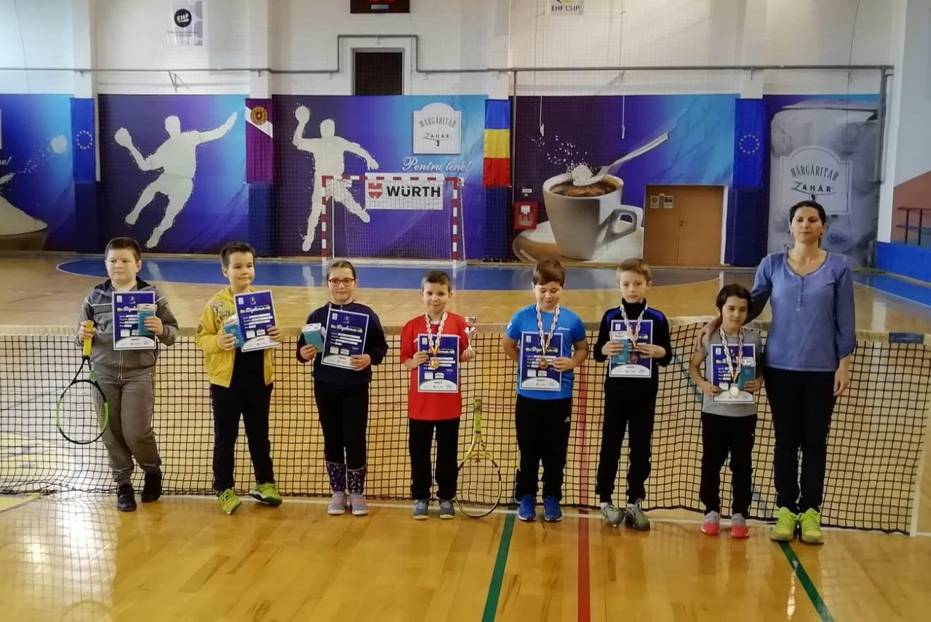 Câștigătorii ediției din acest an a Cupei Wilson la Tenis 10