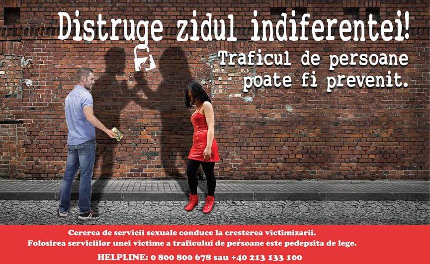 """Activitate de prevenire a traficului de persoane în rândul elevilor, la Colegiul Tehnic """"Petru Poni"""""""