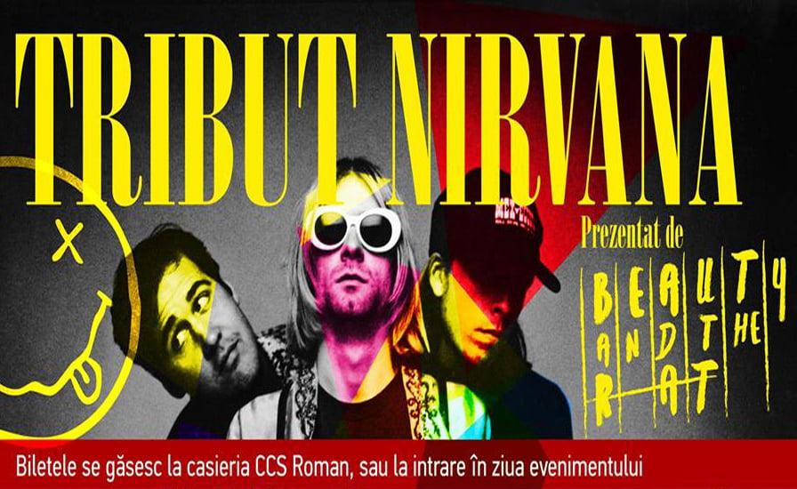 """Concert """"Tribut Nirvana"""", la Casa de Cultură din Roman"""