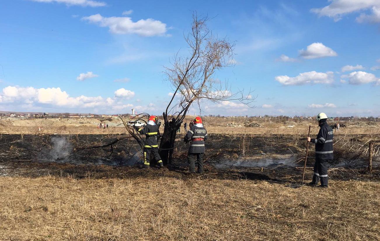 Cum se pot preveni incendiile la arderea de mirişti și de vegetaţie uscată