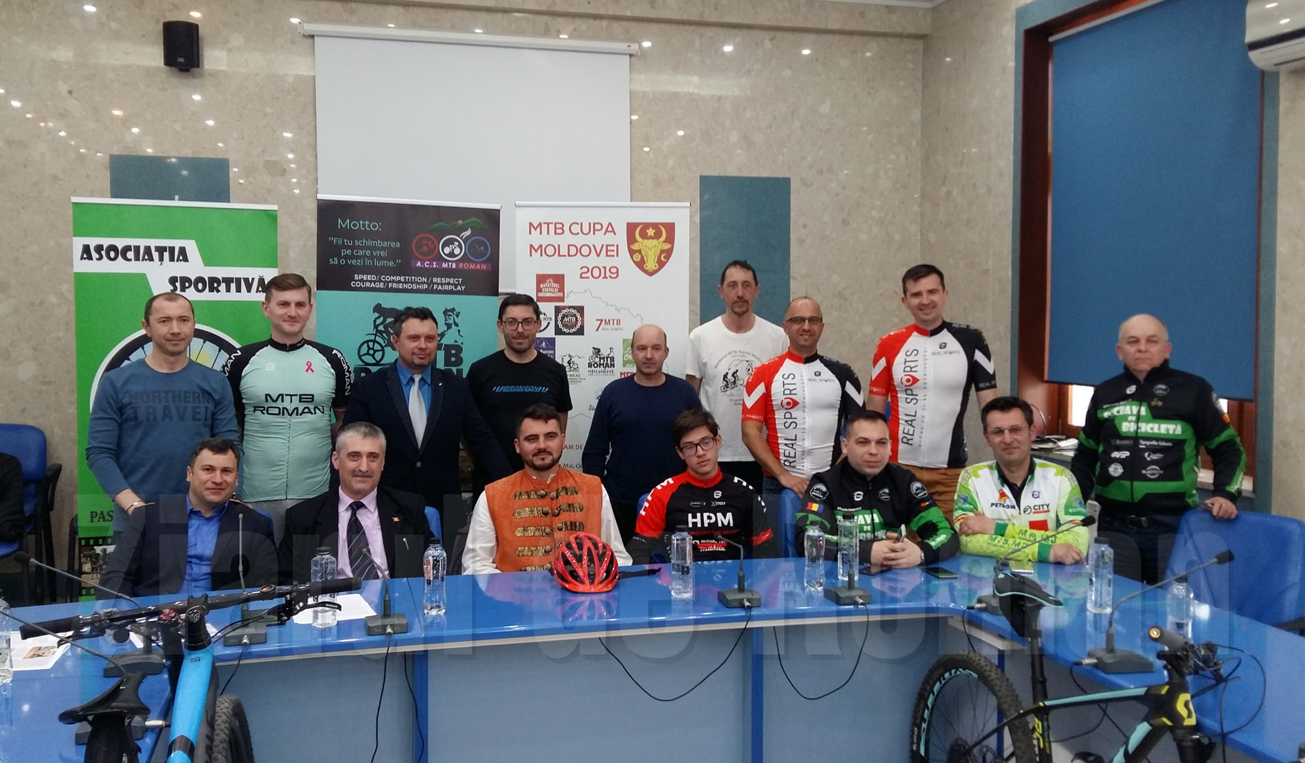 Pregătiri pentru competițiile cicliste MTB Roman Maraton și MTB Cupa Moldovei