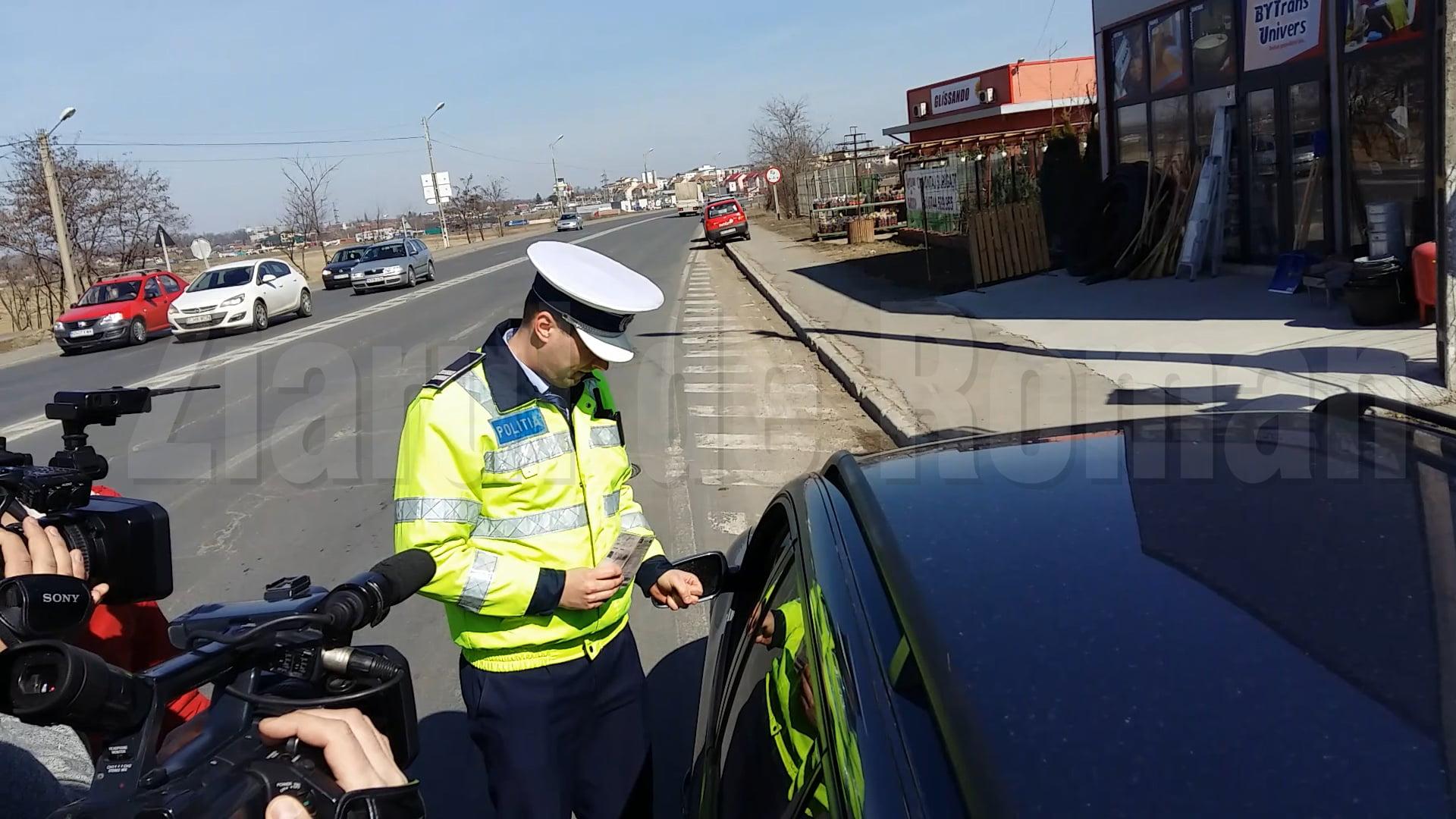 Șoferii sunt verificați în această săptămână dacă poartă centura de siguranță