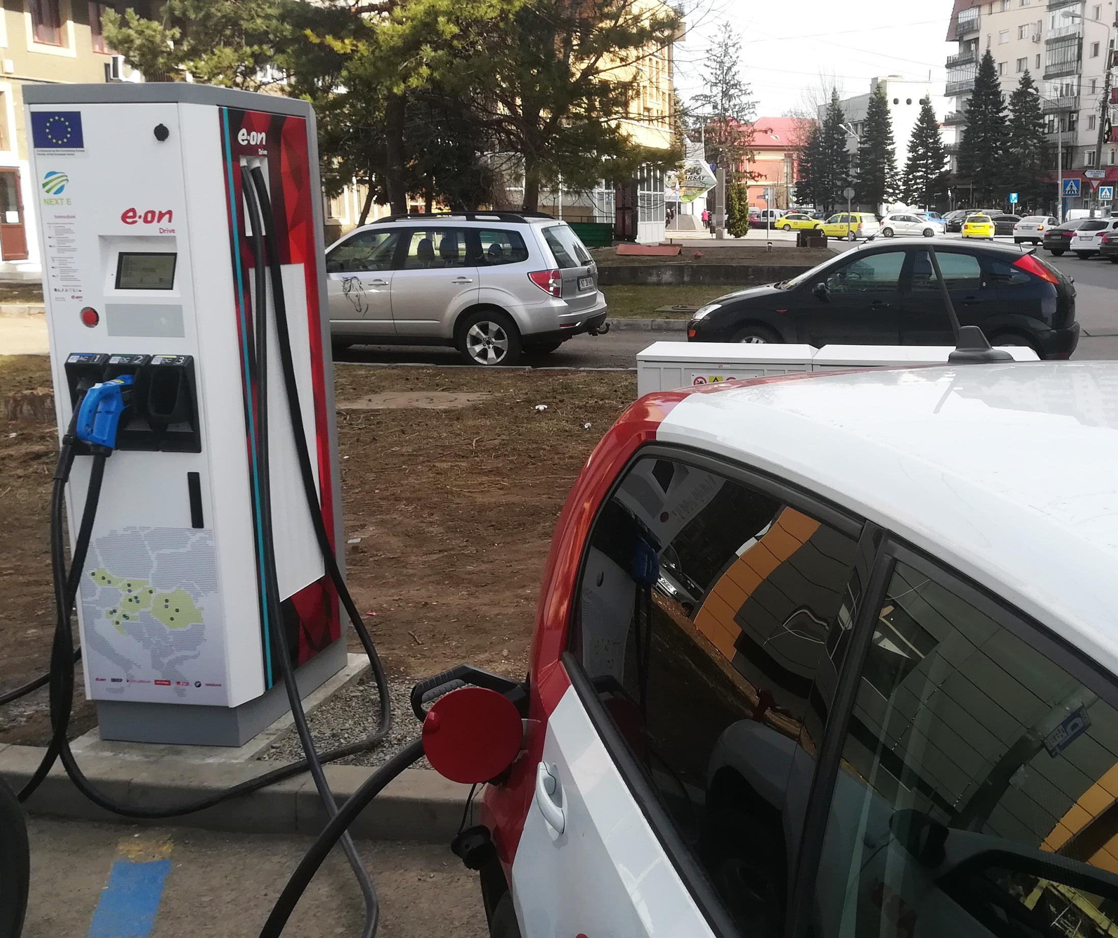 """Premiu pentru """"autostrada electrică"""" a E.ON România, proiectul NEXT-E"""