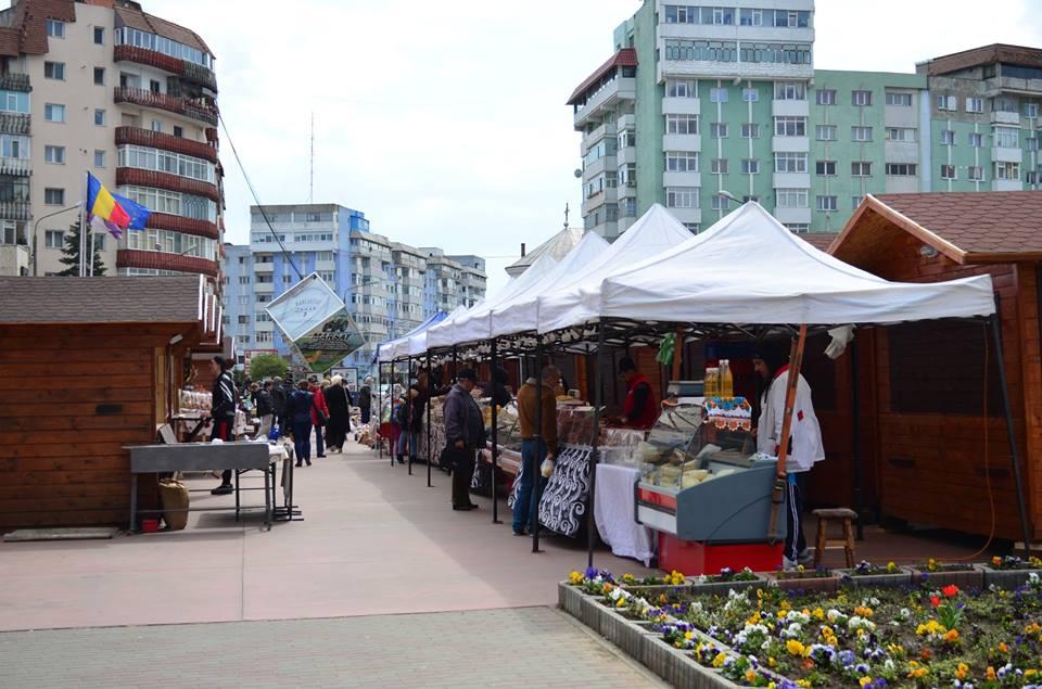 S-a deschis Târgul de Paște, în centrul orașului