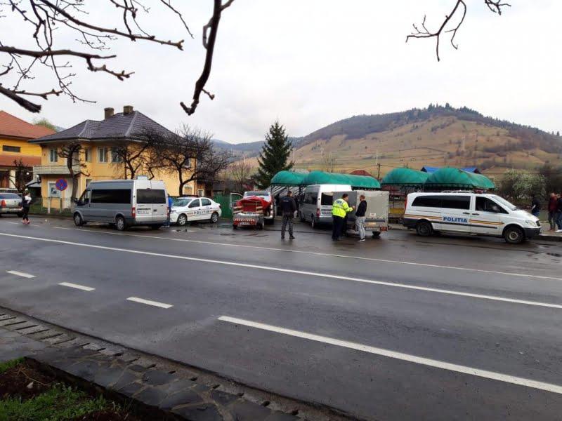 Amenzi de peste 30.000 de lei aplicate de polițiști transportatorilor