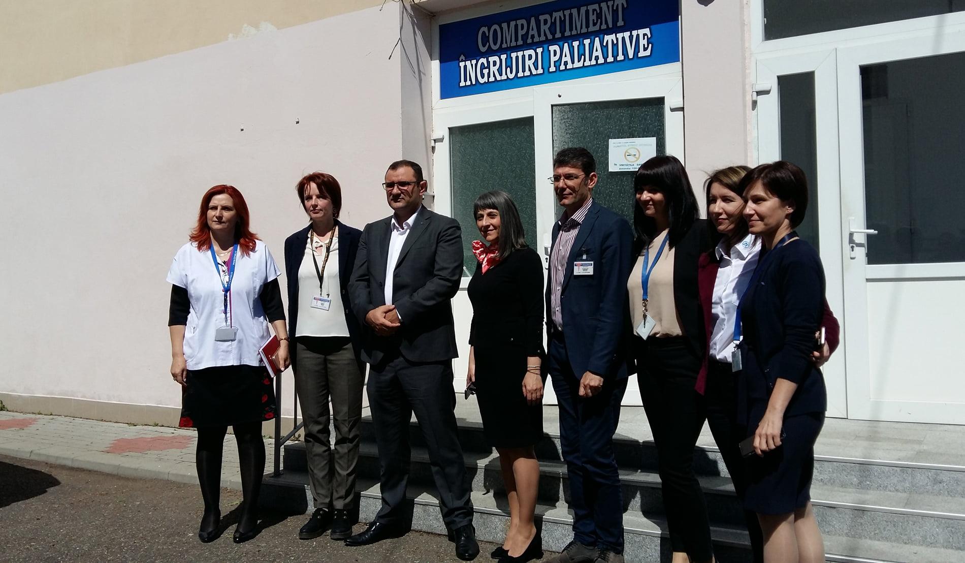 Paturi moderne donate Spitalului Roman de ZF Group