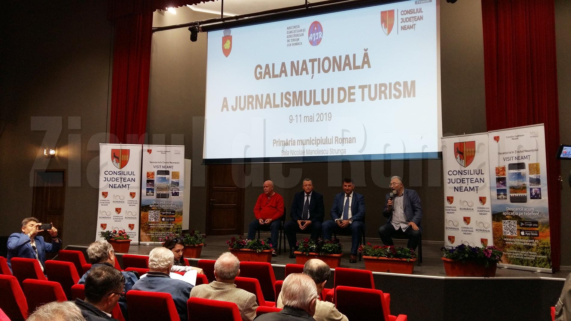 Premiile Galei Asociației Jurnaliştilor şi Scriitorilor de Turism din România, desfășurată la Roman